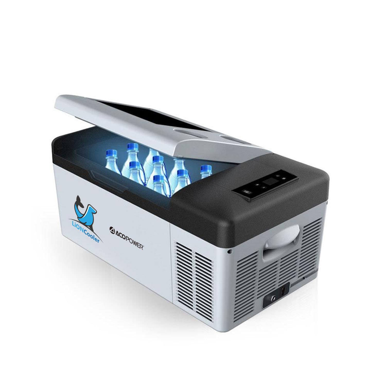 Acopower X15A 12/24/220Volt Akülü/Kablolu 15Litre Kompresörlü Outdoor Oto Buzdolabı