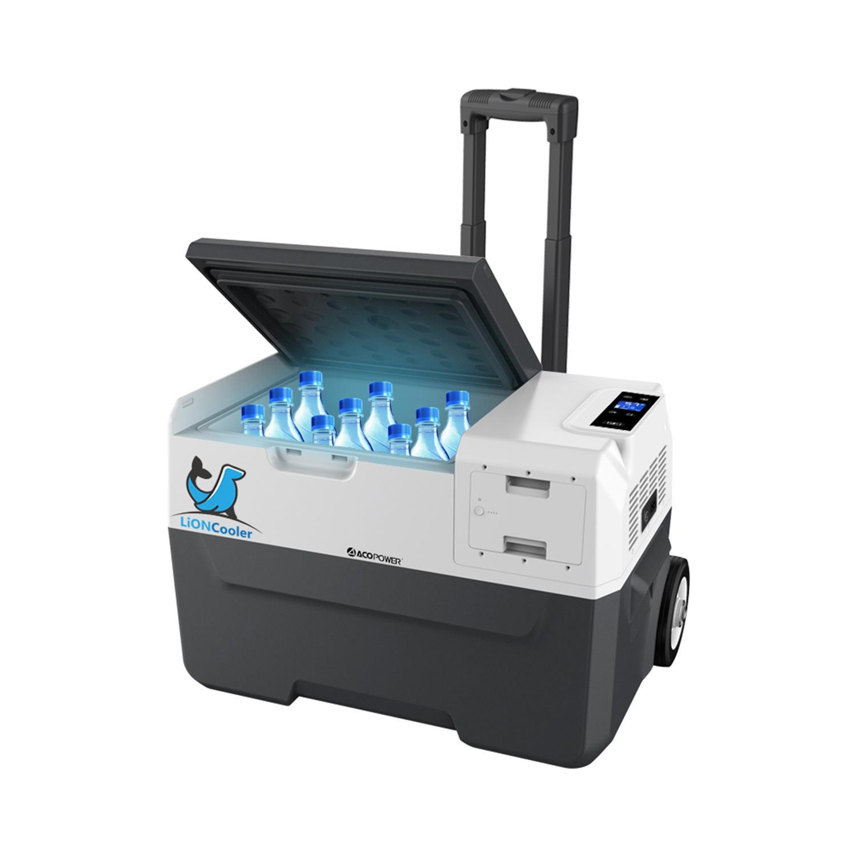 Acopower X30A 12/24/220Volt Akülü/Kablolu 30Litre Kompresörlü Outdoor Oto Buzdolabı