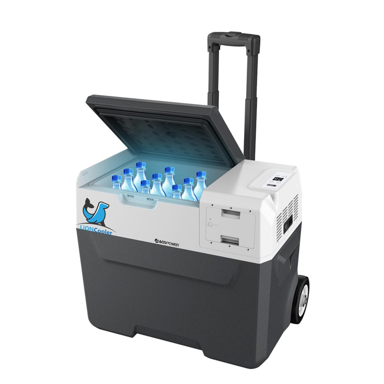 Acopower X40A 12/24/220Volt Akülü/Kablolu 40Litre Kompresörlü Outdoor Oto Buzdolabı