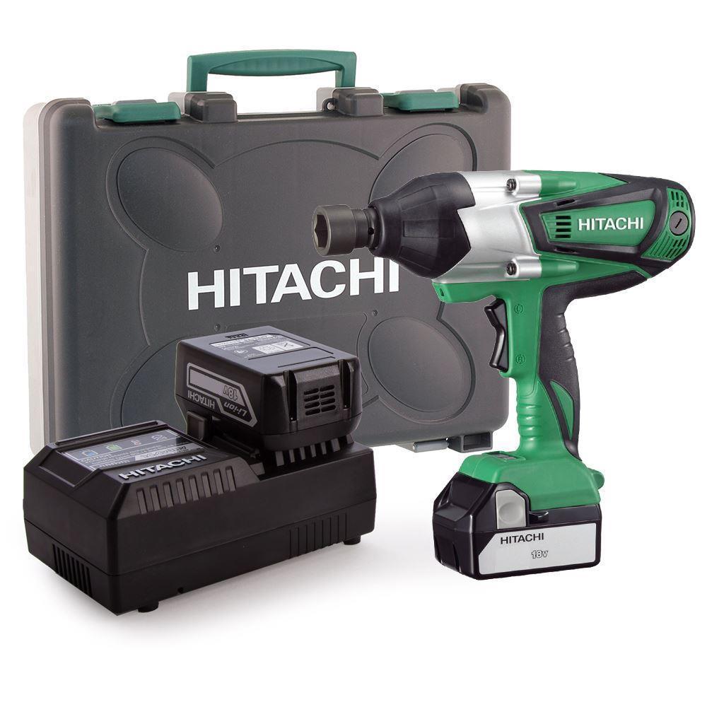 Hitachi WR18DSHL 18Volt/3.0Ah Li-ion Çift Akülü Profesyonel Somun Sıkma