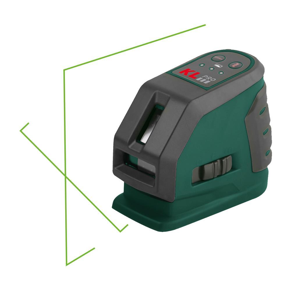 KLPRO KLLZR118GL Profesyonel Yatay ve Dikey Otomatik Hizalamalı Yeşil Çizgi Lazer Distomatı
