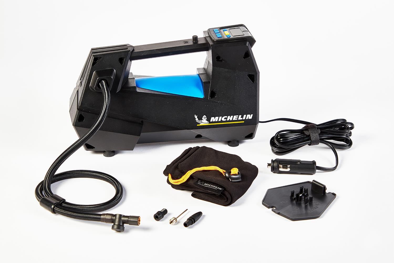 Michelin MC12312 12Volt 100 PSI Ayarlanabilir Dijital Basınç Göstergeli Sessiz Hava Pompası