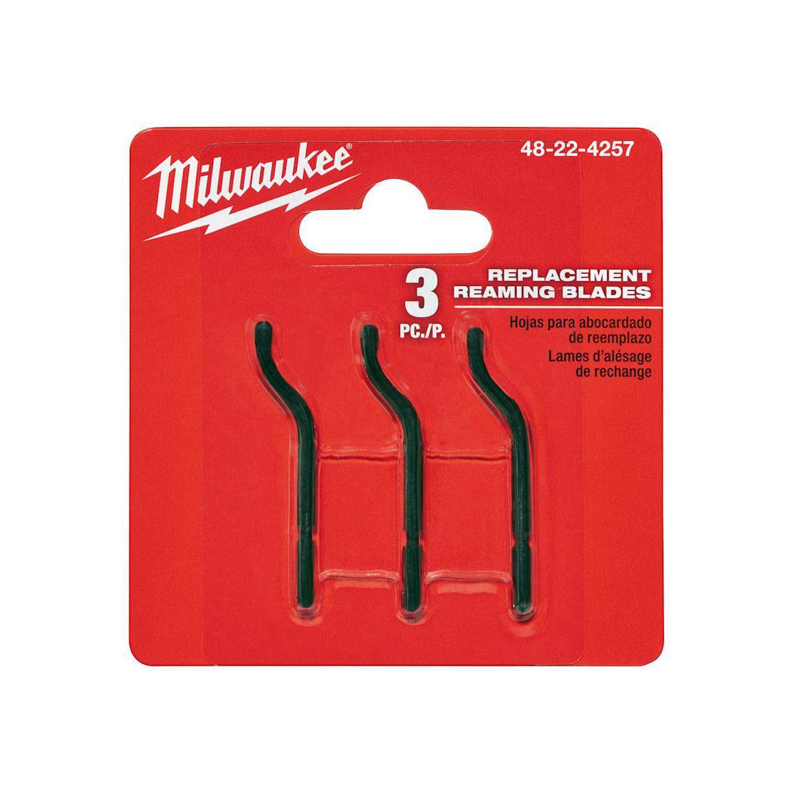 Milwaukee T48224257 Ağır Hizmet Tipi Çapak Temizleme Kalemi Yedeği 3lü