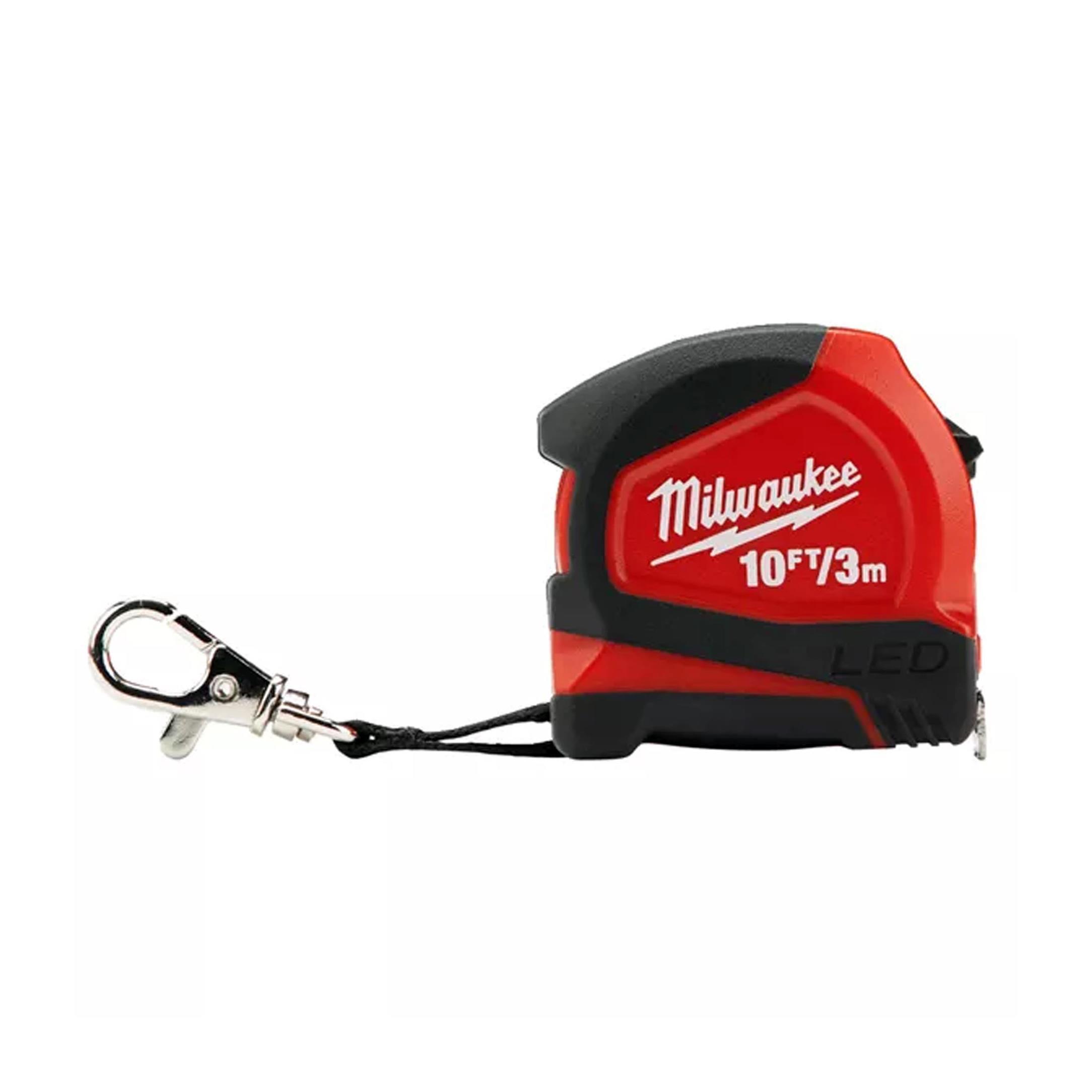 Milwaukee T48226602 Ağır Hizmet Tipi Led Işıklı Şerit Metre 3m