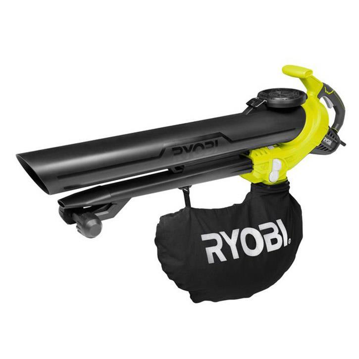 Ryobi RBV3000CESV 3000Watt Yaprak Toplama, Öğütme ve Üfleme Makinası