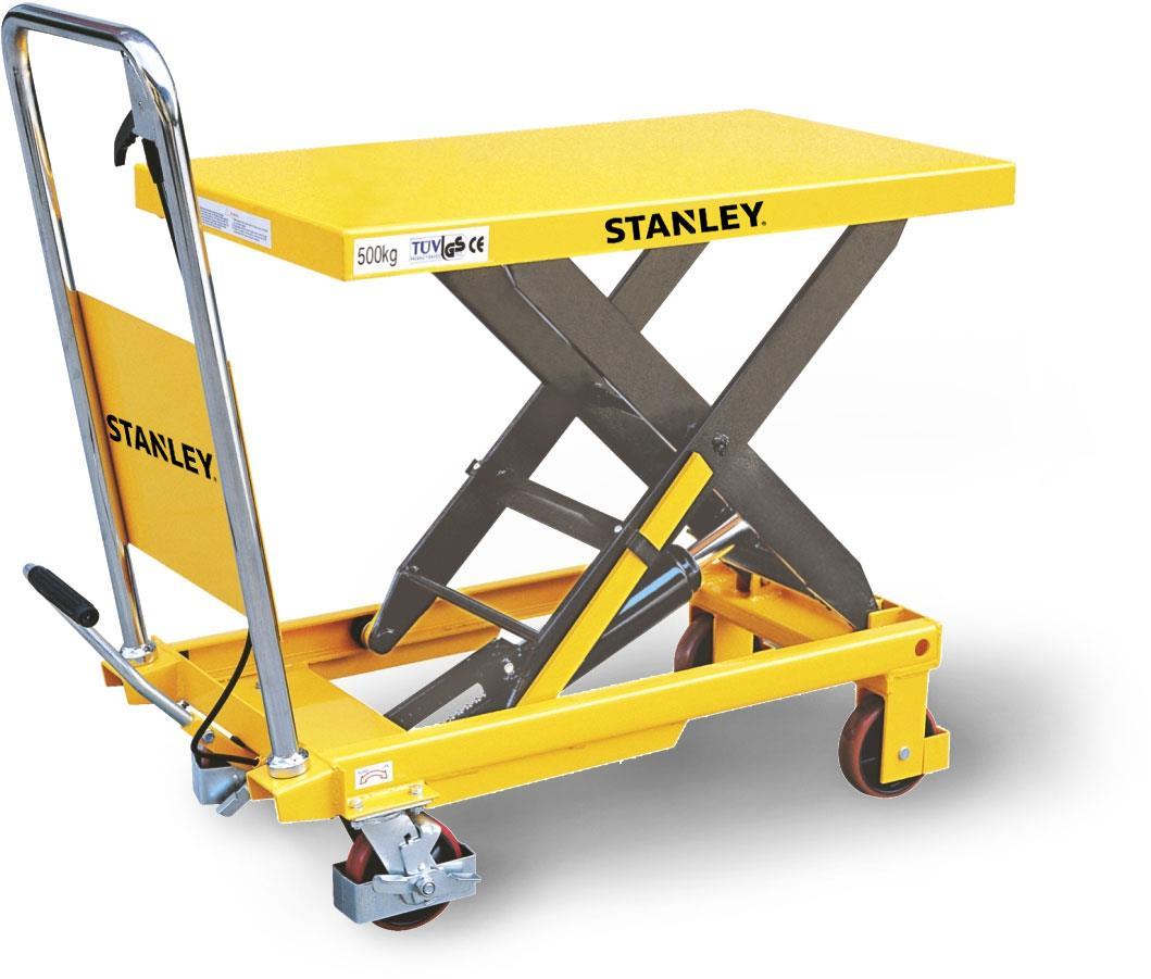 Stanley X500 500Kg Profesyonel Makaslı Platform
