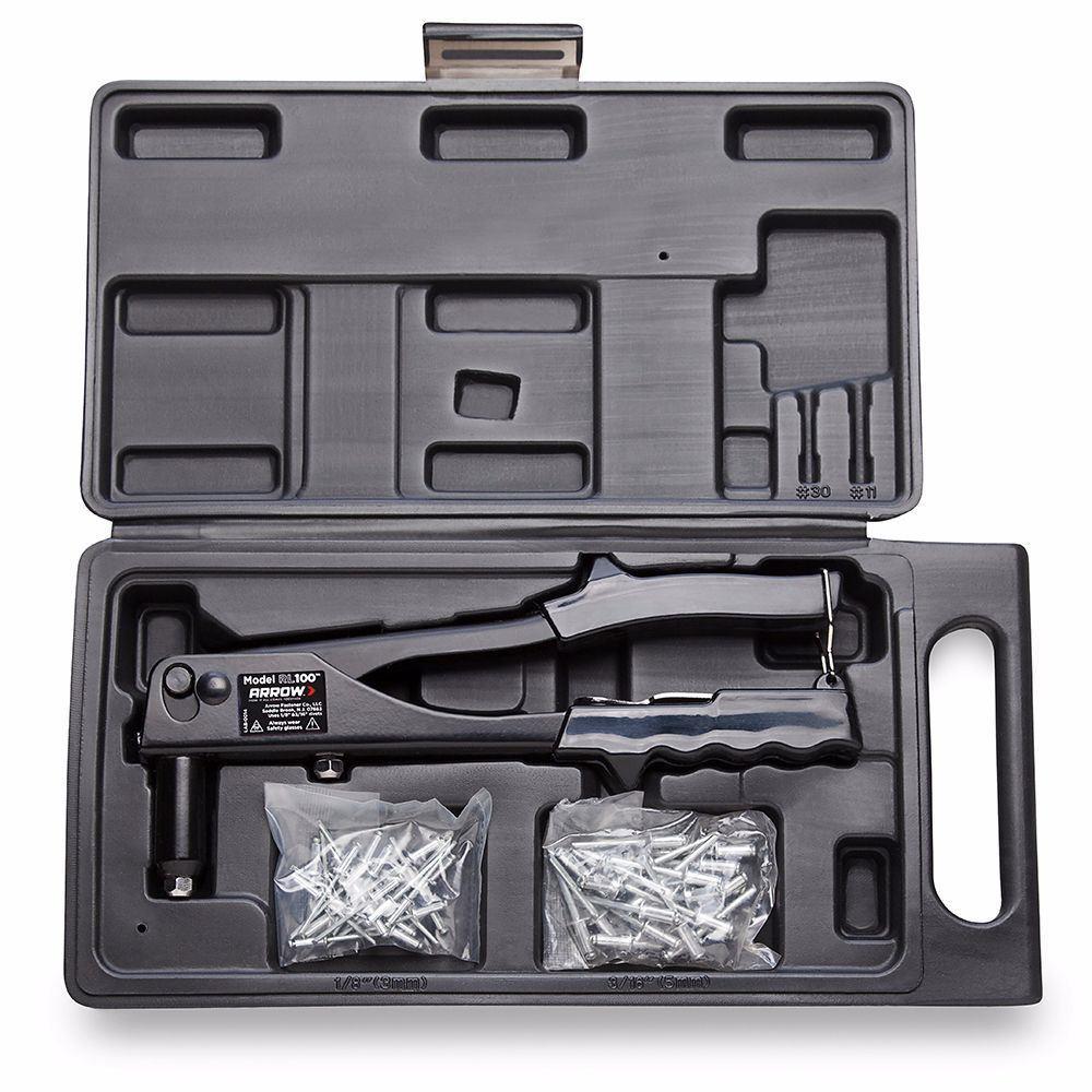 Arrow RL100K 3-5mm Profesyonel Perçin Tabancası + 50 Adet Perçin