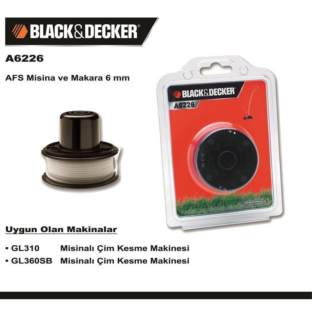 Black&Decker A6226 GL310 ve GL360SB Yedek Misina