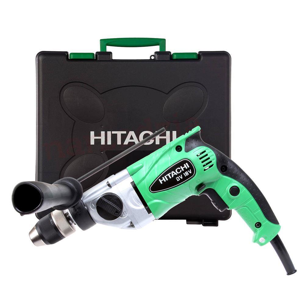 Hitachi DV18V 690Watt 13mm 2 Vitesli Profesyonel Darbeli Matkap