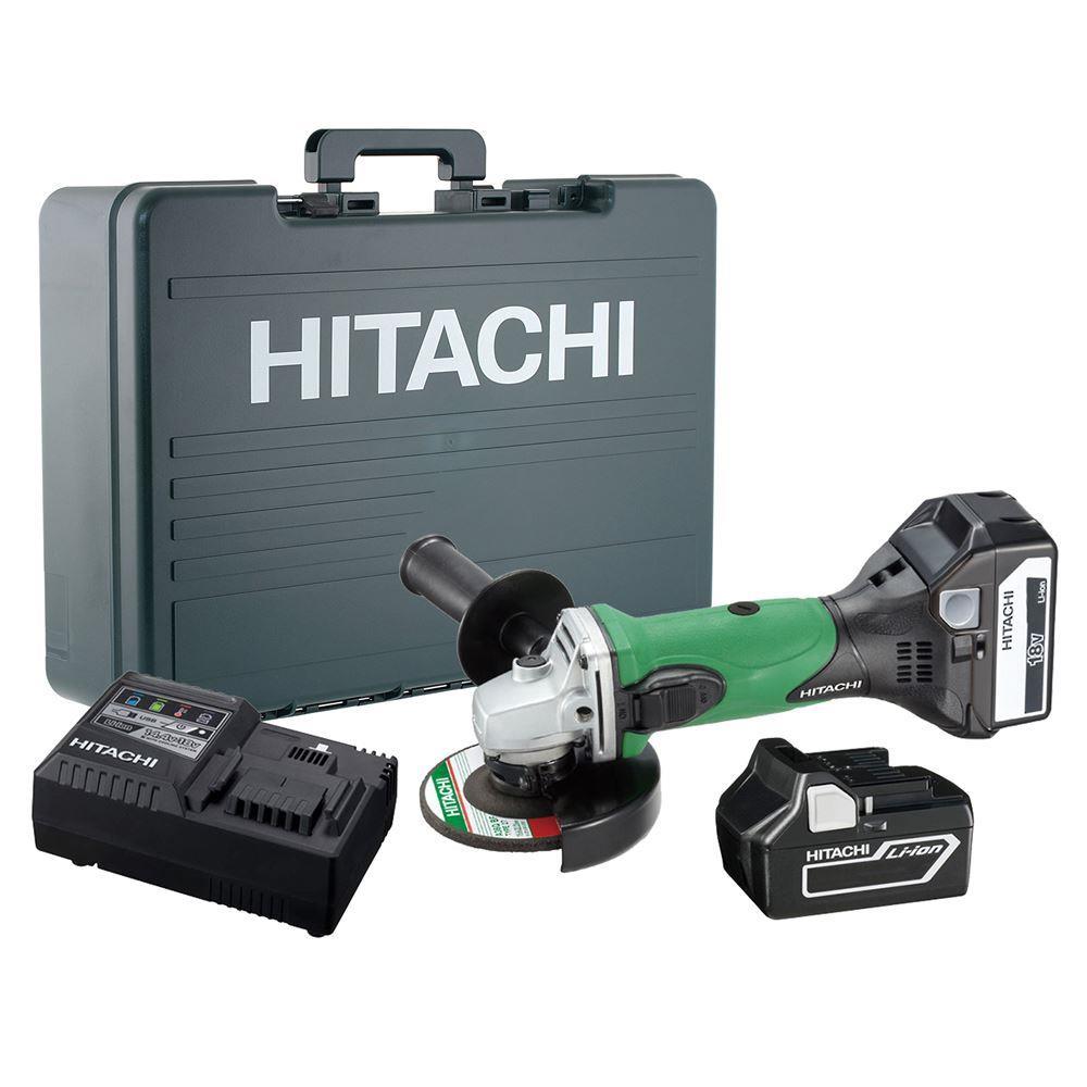 Hitachi G18DSL 18 Volt/3.0Ah Li-Ion 115mm Profesyonel Avuç Taşlama