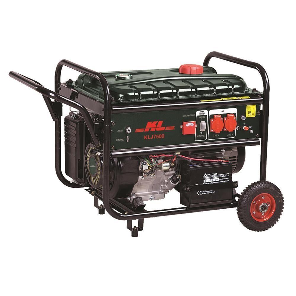 KL KLJ7500M 14Hp 6.5kVA Benzinli Jeneratör