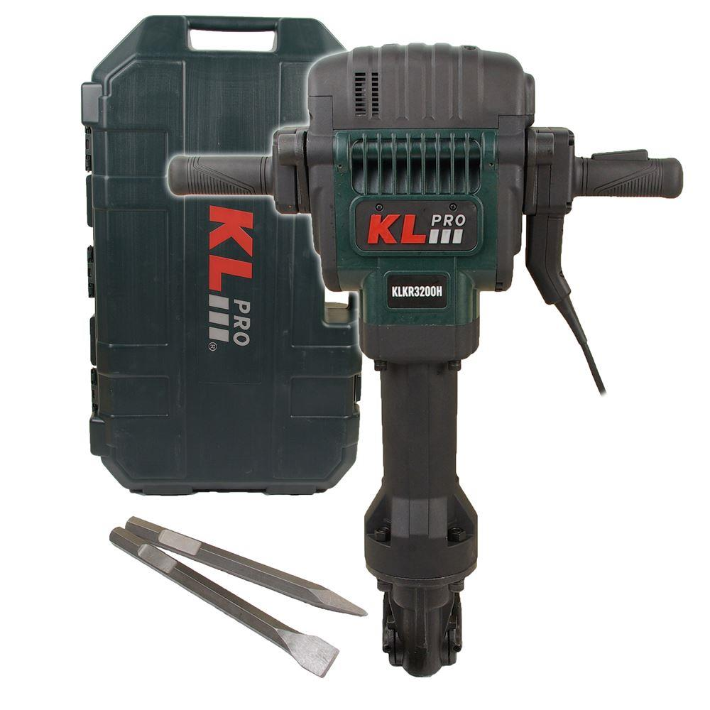 KLPRO KLKR3200H 2200Watt 78J 30Kg Profesyonel Hex Kırıcı