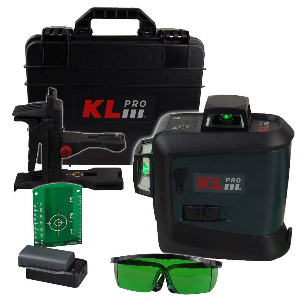 KLPRO KLLZR93GL 7.2Volt/2,6 Ah Li-Ion Yeşil Çizgi Lazer Distomat