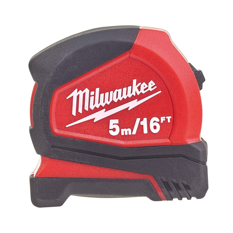 Milwaukee T4932459595 Ağır Hizmet Tipi Pro Kompakt Şerit Metre 5m/16ft