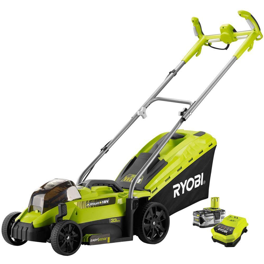Ryobi RLM18X33H40 18Volt/4,0Ah Li-Ion 33cm Çim Biçme Makinası