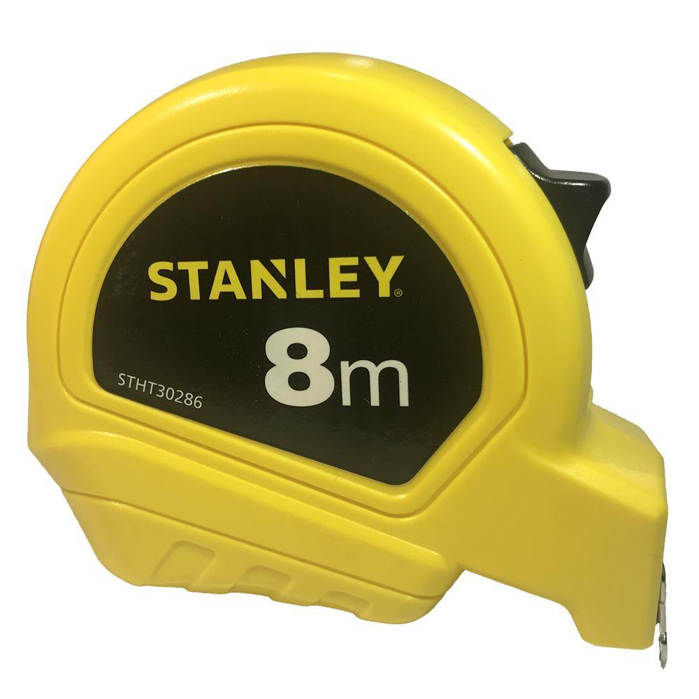 Stanley STHT302868B Çelik Şerit Beyaz Metre 8mx25mm